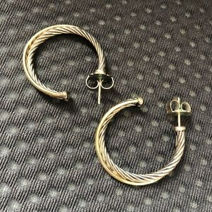 David Yurman earrings 20mm